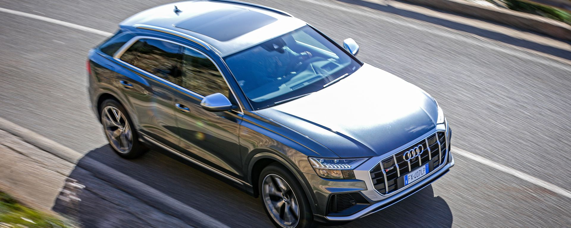 Audi SQ8, la prova su strada