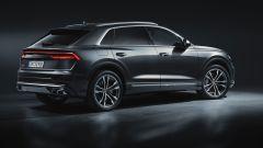 Audi SQ8: vista 3/4 posteriore