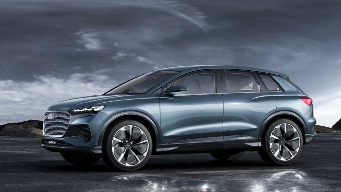 Audi stop sviluppo motori a combustione: il nuovo SUV elettrico Q4 e-tron