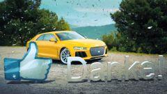 Audi: taglia il traguardo dei 100mila fan con la Sport Quattro Concept - Immagine: 1