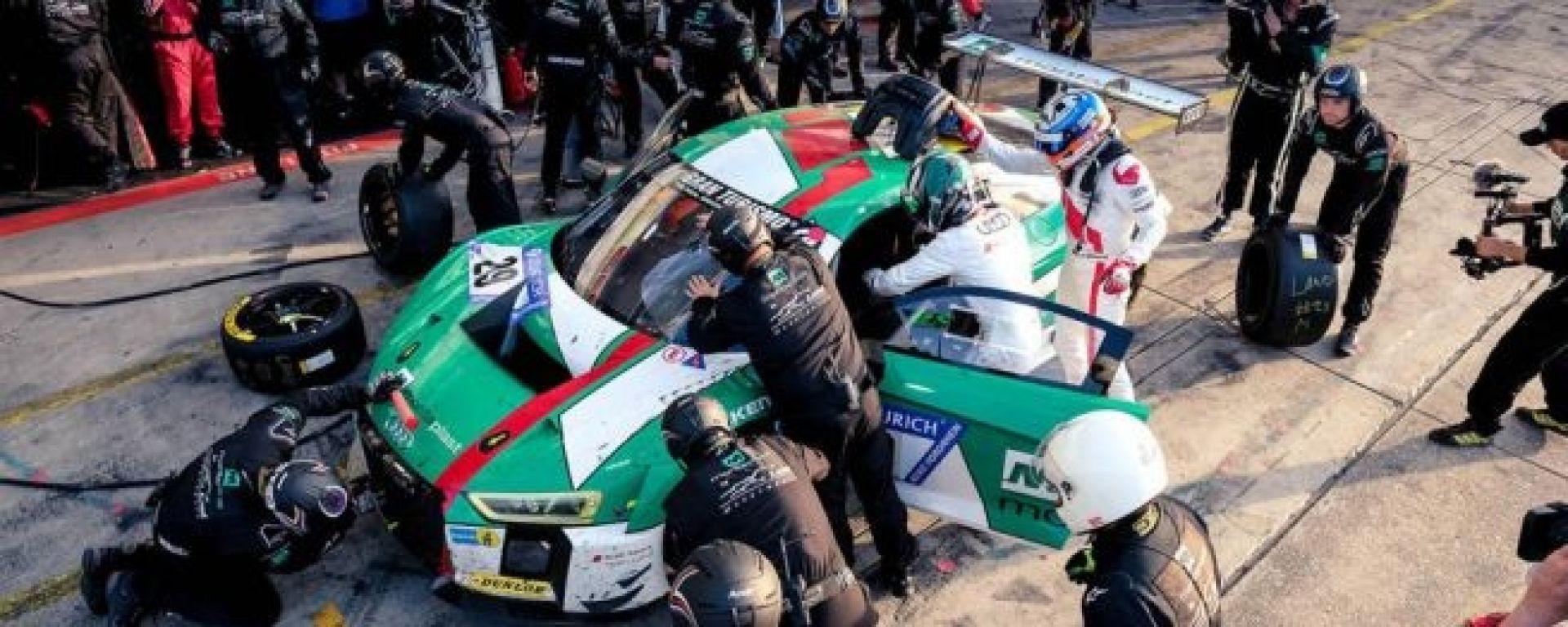 Audi Team Land Pit Stop - 24 Ore Nurburgring