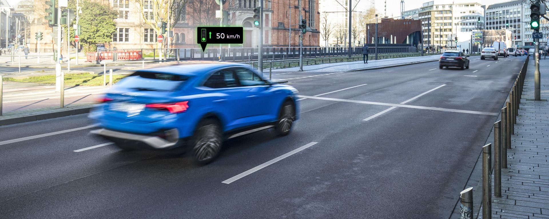 Audi Traffic Light Information system