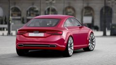 Audi TT Fastback a 4 porte: il posteriore