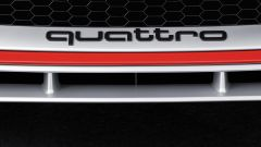 Audi TT RS 2016, calandra con scritta Quattro