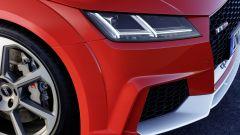 Audi TT RS 2016, particolare del muso
