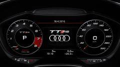 Audi TT RS 2016, quadro strumenti