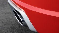 Audi TT RS 2016, tubo di scarico