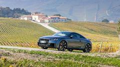 Audi TT RS 2017 tra i vigneti