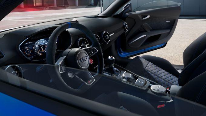 Audi TT RS 25th Anniversary, interni