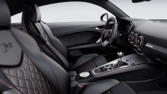 Audi TT RS: l'abitacolo