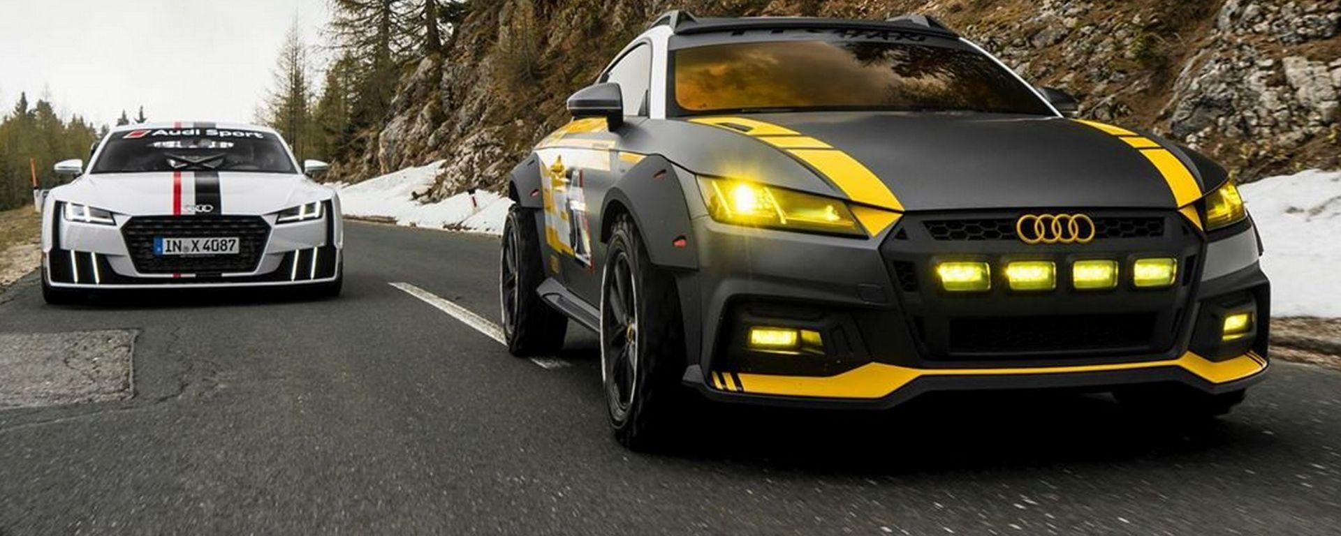 Audi TT Safari 2019