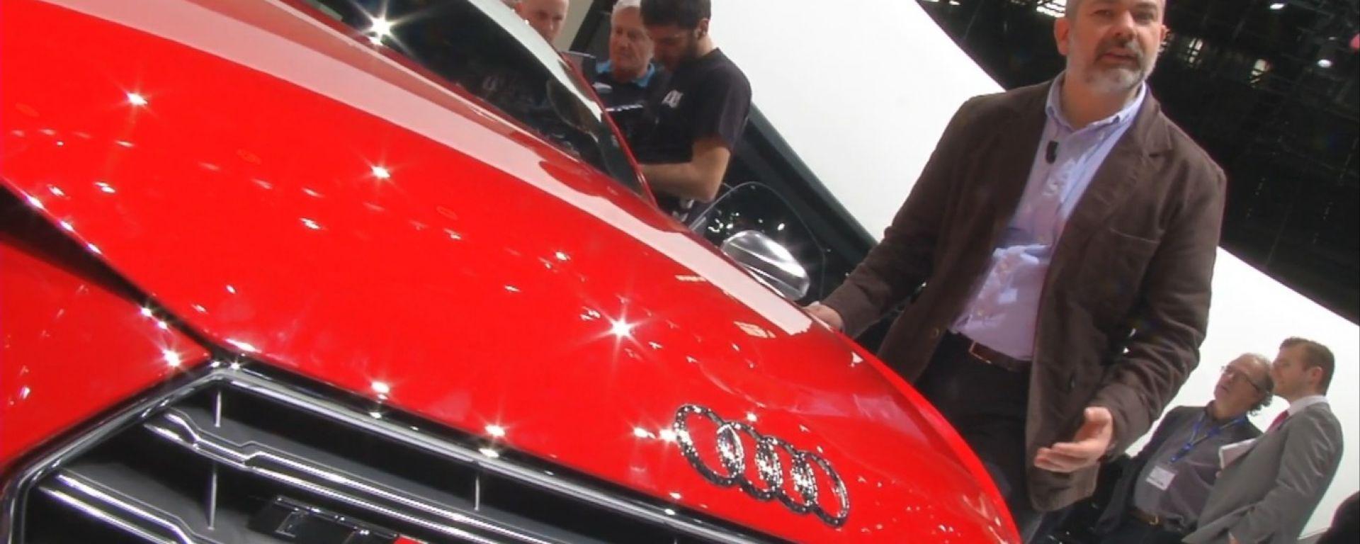 Salone di Ginevra 2014, lo stand Audi