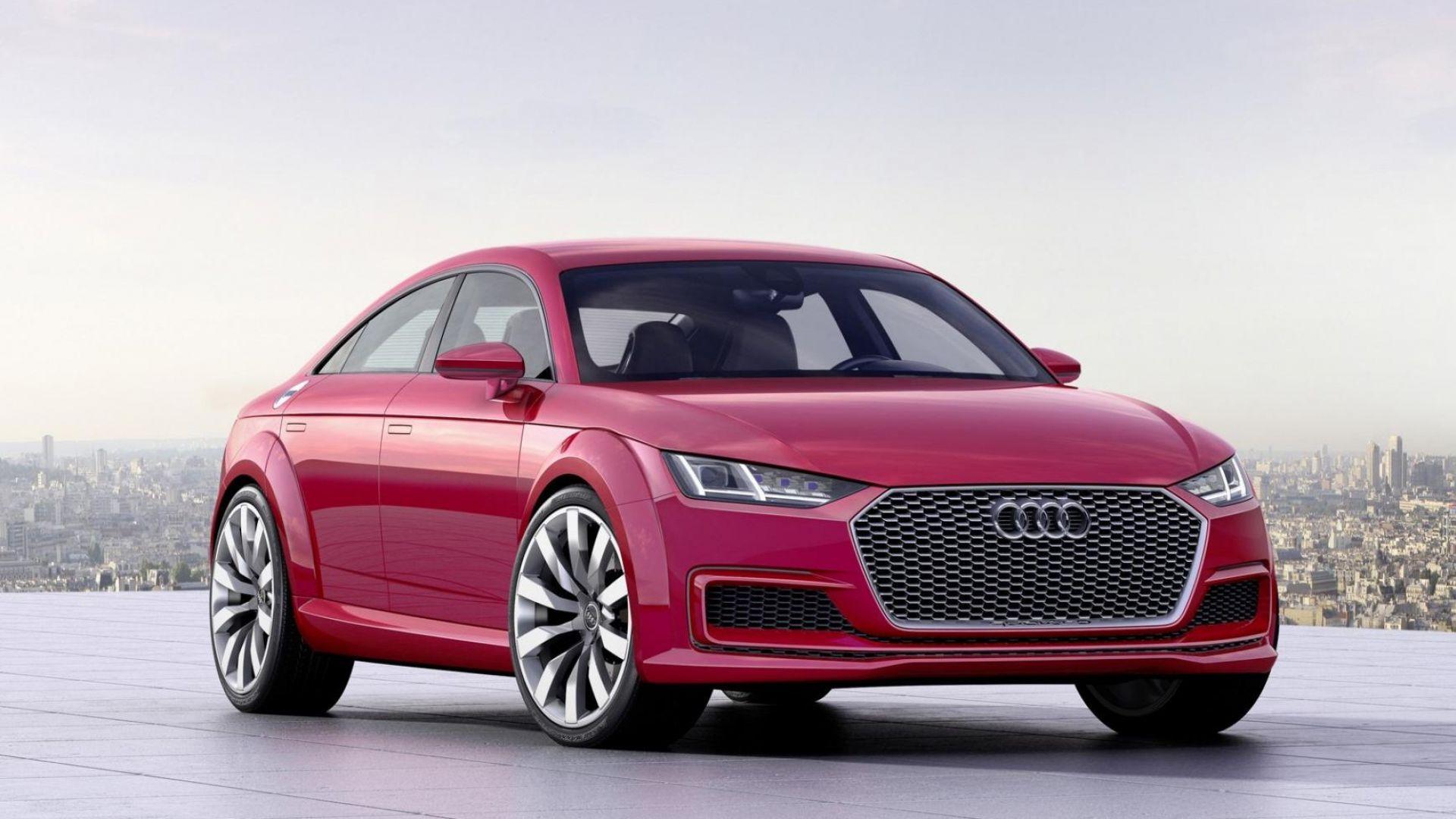 nuova audi tt, dal 2021 come coupé a 4 porte e solo