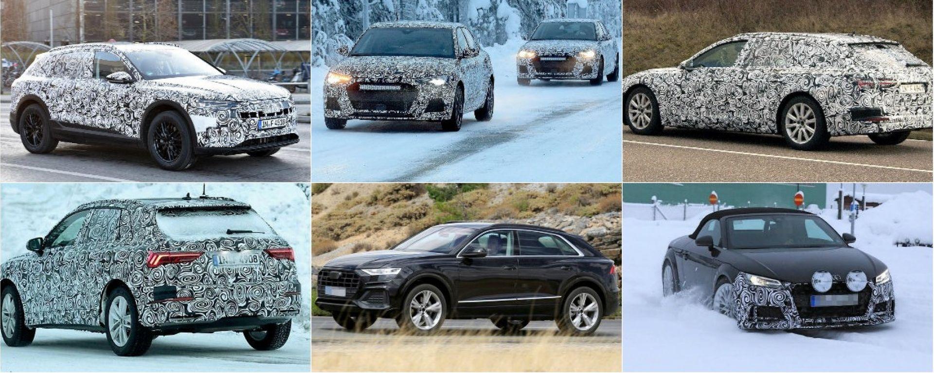 Audi: tutte le novità del 2018
