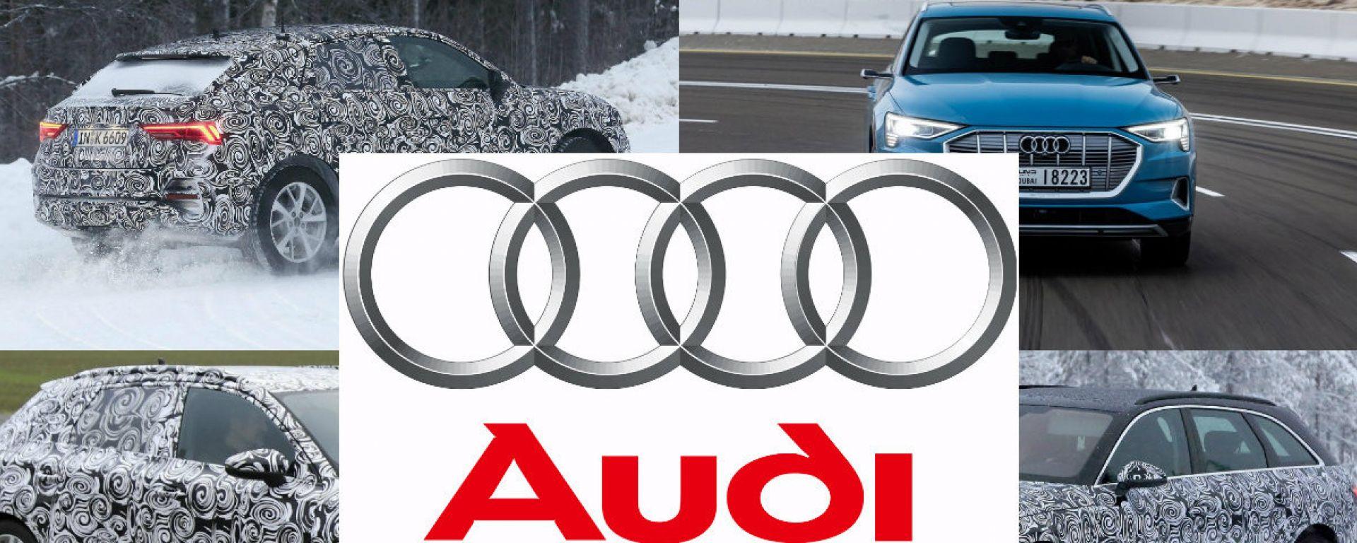 Audi, tutte le novità del 2019