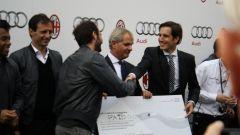 AUDI: consegnate le auto al Milan - Immagine: 72