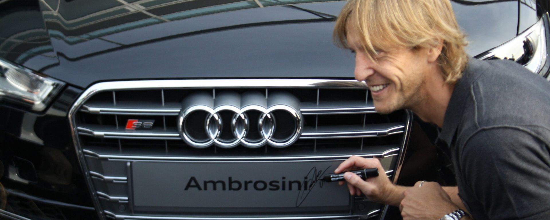 AUDI: consegnate le auto al Milan