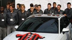 AUDI: consegnate le auto al Milan - Immagine: 3