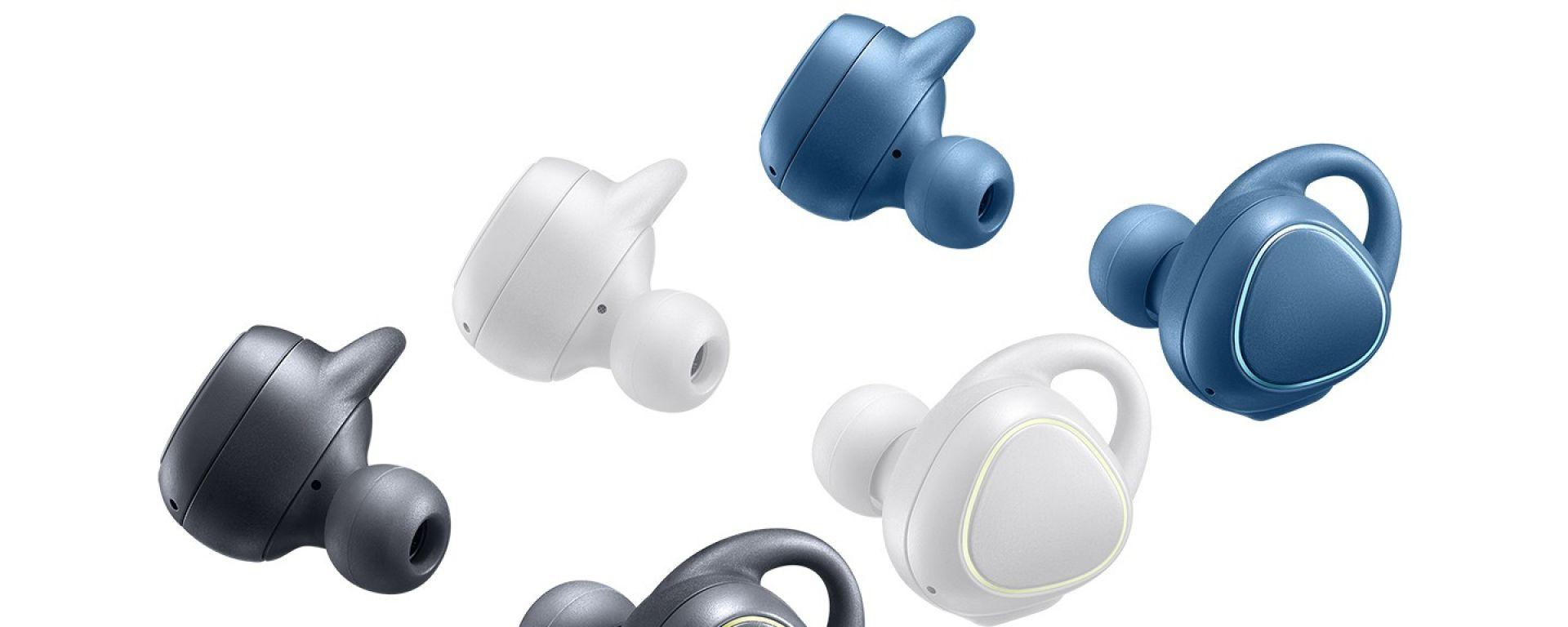Auricolari Samsung Gear IconX: fitness e guida in sicurezza