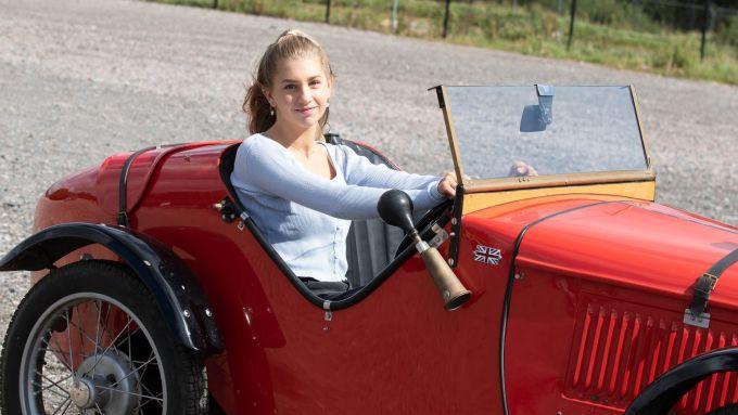 Austin 7 Ulster 1934 Replica: i test drive si possono fare a partire dai 10 anni di età