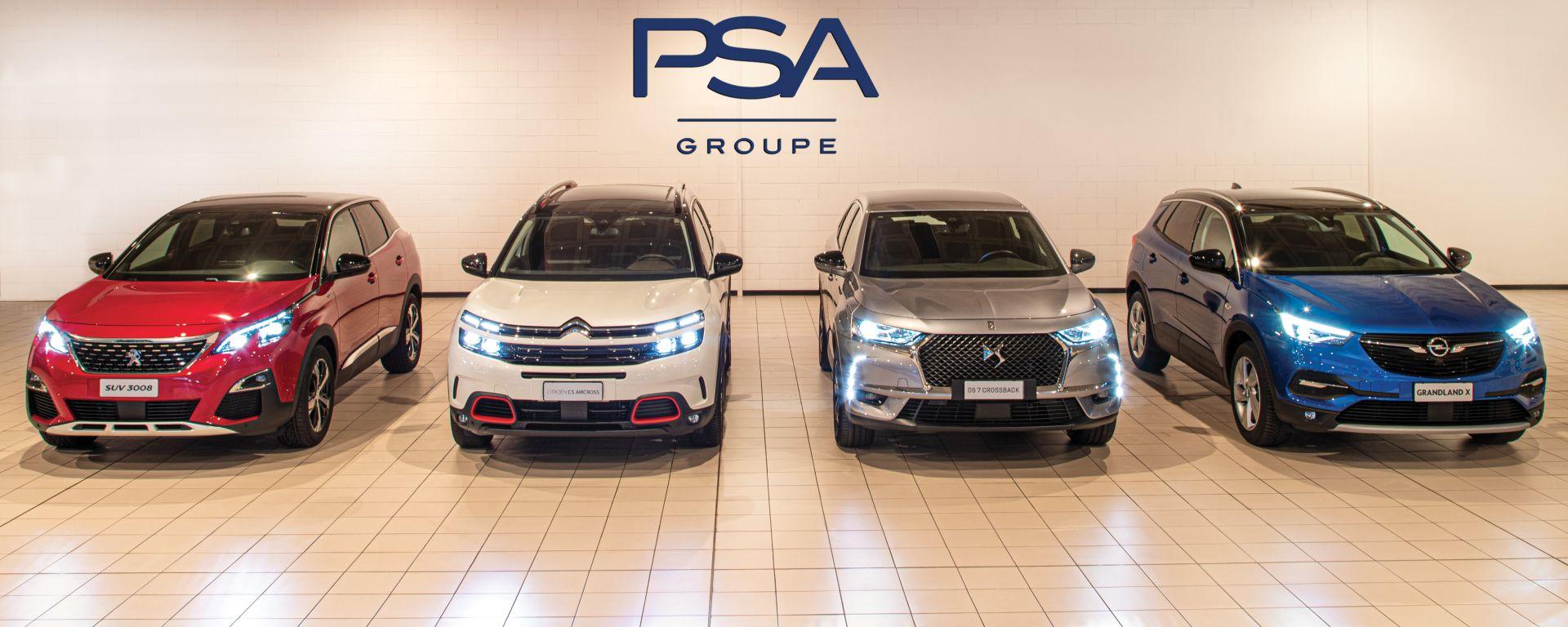Auto del Gruppo PSA