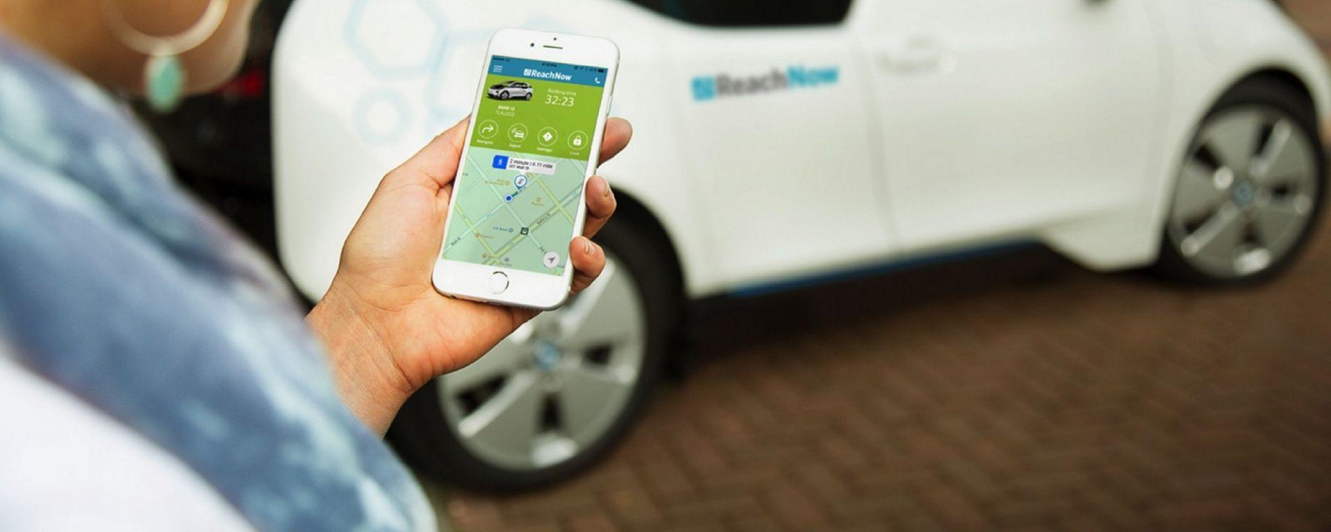 Auto di proprietà, col car sharing è in calo