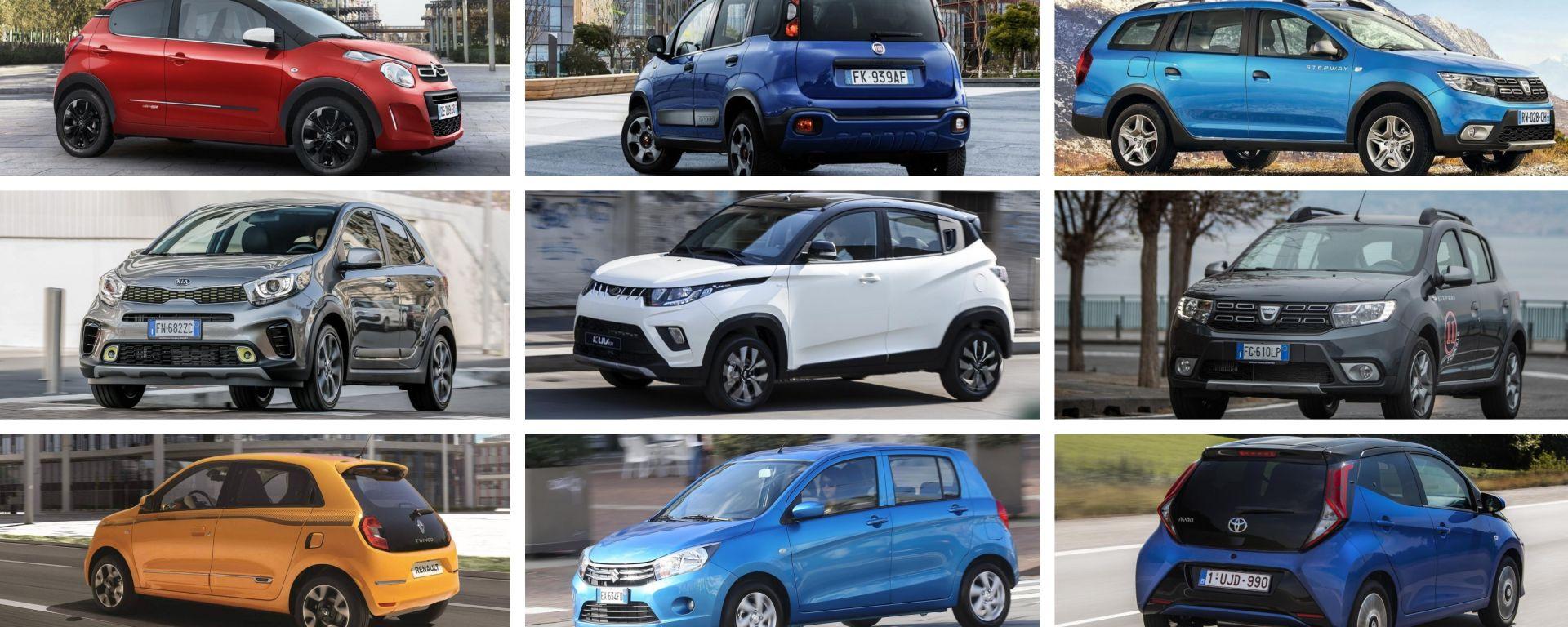 Auto economiche, come spendere meno di 12.000 euro