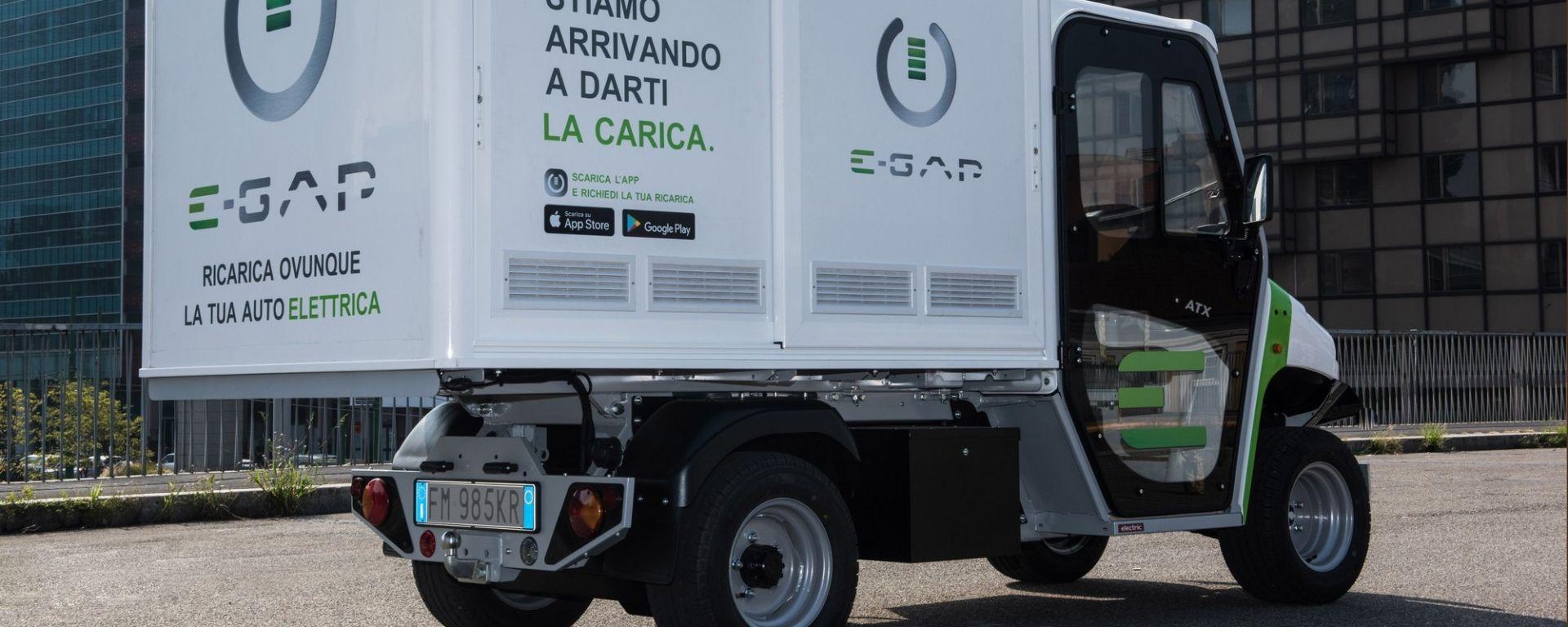 Auto elettrica, a Milano debutta E-GAP