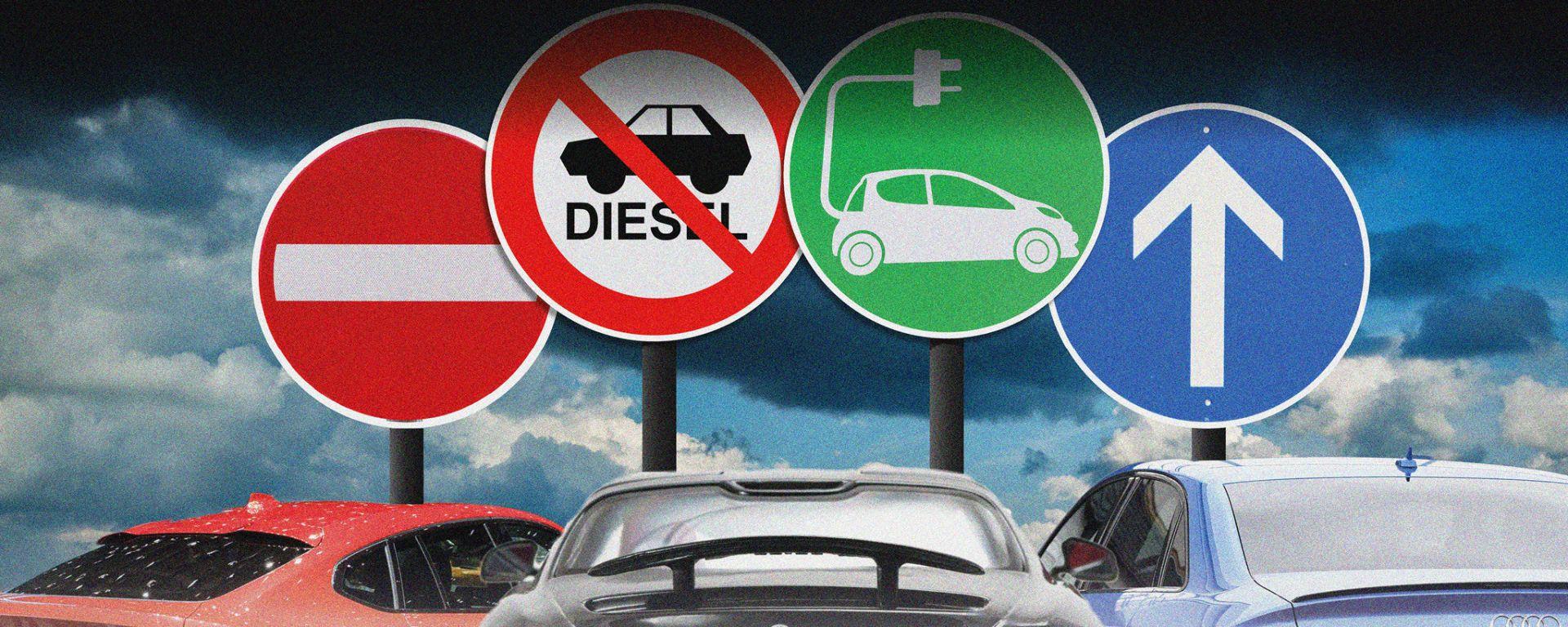 Auto elettrica, auto diesel e inquinamento: quanta confusione