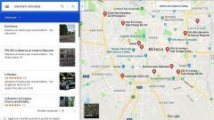 Auto elettriche: le colonnine di ricarica su Google Maps