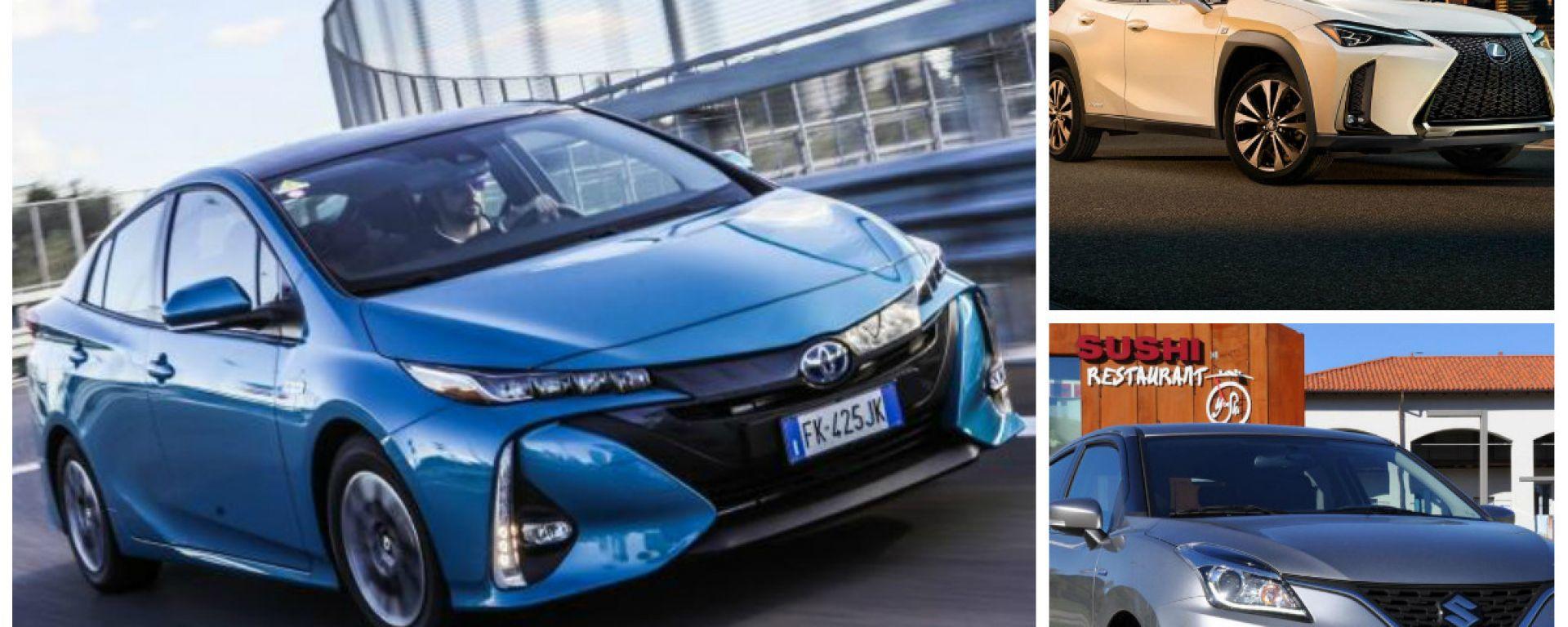 Auto ibride 2019: gli sconti Toyota, Lexus e Suzuki