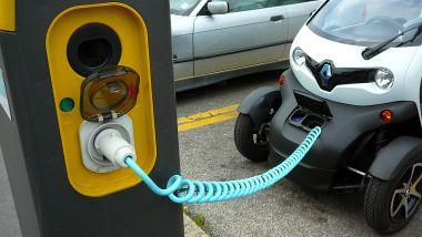 La Renault Twizy è l'elettrica più compatta nella classifica stilata da AutoScout 24