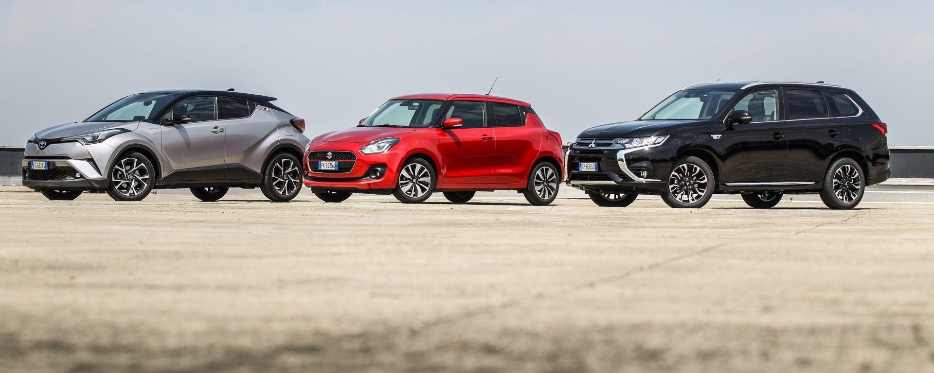 Auto Ibride Mild, Full o Plug In: la guida all'acquisto