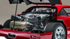 Auto italiane iconiche con motore V8: il motore della Ferrari F40