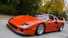 Auto italiane iconiche con motore V8: la Ferrari F40