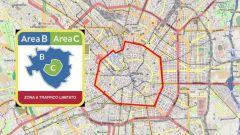 Auto storiche: Area B e Area C a Milano