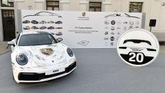 Auto vincitrice: il team Davide Trevisan, Elisabetta Riva, Lorenzo Rogante e Chiara Versaico
