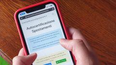 Autocertificazione spostamenti, servizi digitali sospesi