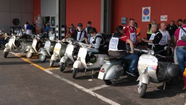 Autoclassica 2021, il raduno del Vespa Club