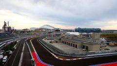 Autodromo di Sochi - curva 15