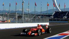 Autodromo di Sochi - Ferrari in azione