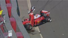 Autodromo di Sochi - Sebastian Vettel si ritira nel 2016