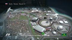 Autodromo di Sochi - vista aerea