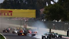 Autodromo Hermanos Rodriguez - fasi iniziali dell'edizione 2016