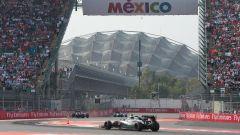 Autodromo Hermanos Rodriguez - il settore dello stadio visto in pista