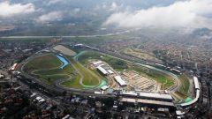 Autodromo Josè Carlos Pace (Interlagos) - vista aerea