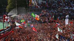 Autodromo Nazionale di Monza - la marea Rossa