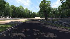 Autodromo Nazionale di Monza - prima curva di Lesmo