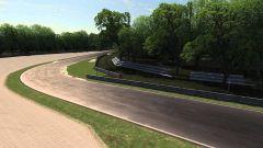 Autodromo Nazionale di Monza - seconda curva di Lesmo