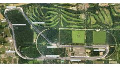 Autodromo Nazionale di Monza - vista aerea